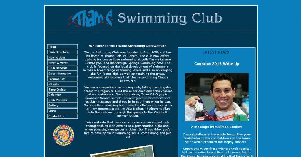 thame Swimming club