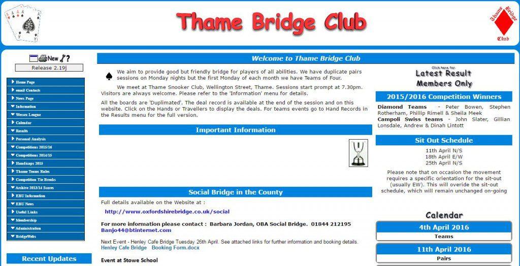 thame bridge
