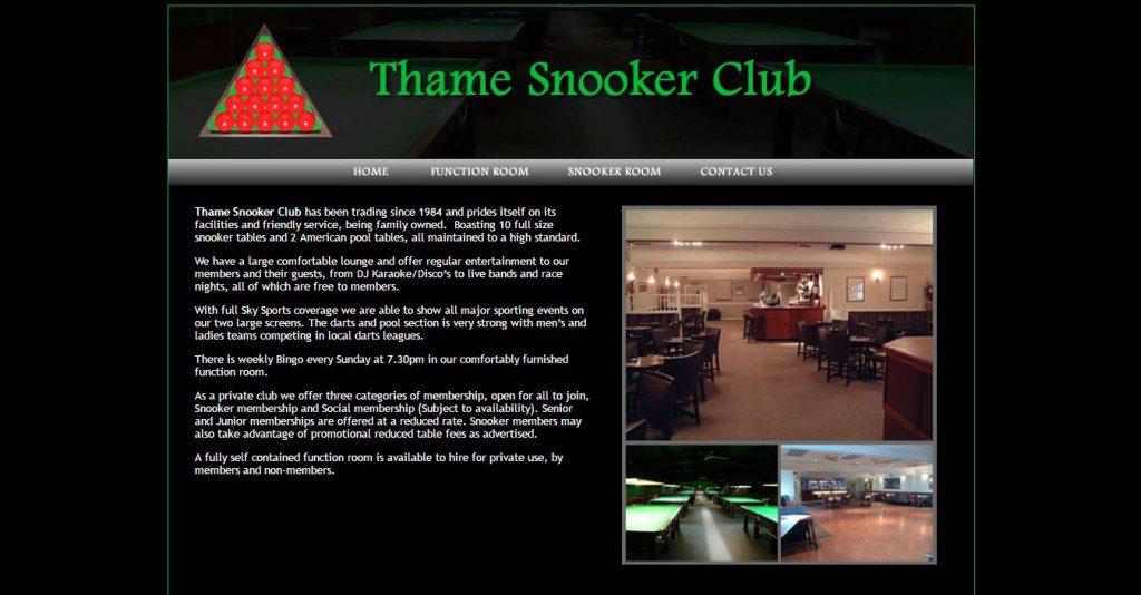 thame snooker