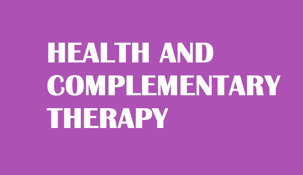 HEALTH AND THERAPY