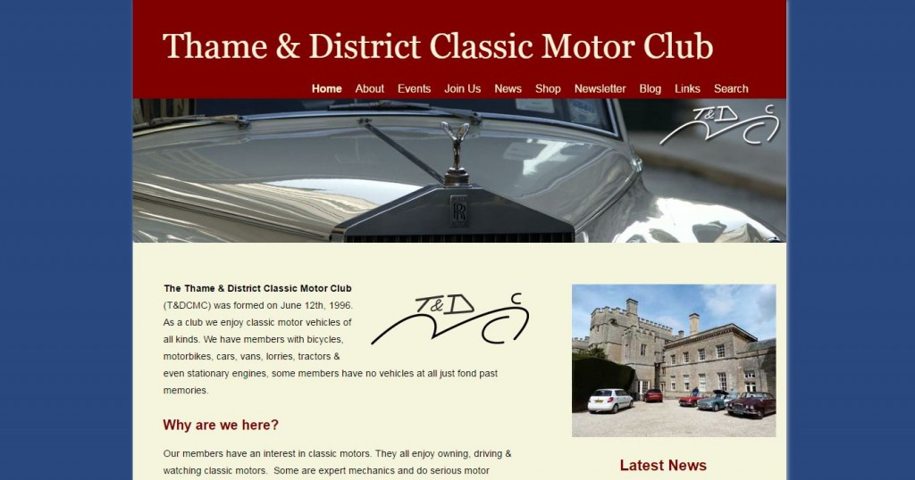 thame and district classic motor club