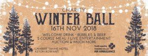 Charity Winter Ball 2018 @ Lambert Thame Hotel, Aston Rowant