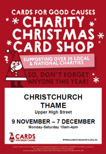 Cards For Good Causes - Charity Christmas Card Shop @ Christchurch Thame