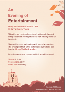 An Evening of Entertainment @ St Mary's Church, Thame