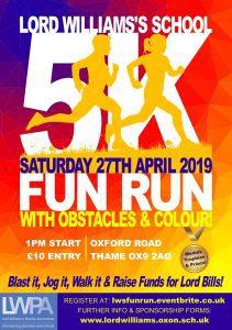 Lord Williams's School 5k Fun Run @ Oxford Road, OX9 2AQ