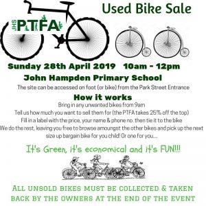 Used Bike Sale @ John Hampden Primary School