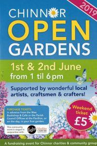 Chinnor Open Gardens, Arts & Crafts Weekend @ Chinnor