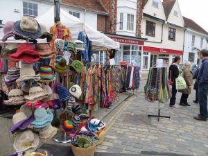 Summer Street Market @ cobbles around the Town Hall