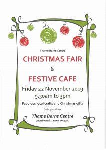 Christmas fair @ Thame Barns Centre