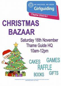Christmas Bazaar @ Thame Guide HQ