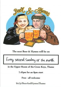 Beer & Hymns @ Upper Room, Cross Keys, Thame