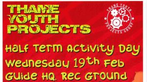Thame Youth Projects: Half Term Activity Day @ Guide HQ on Southern Road