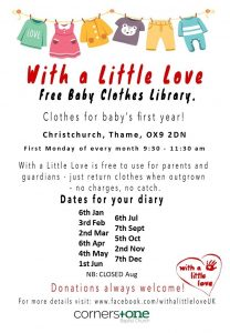 With A Little Love - Free Baby Clothes Library @ Christchurch