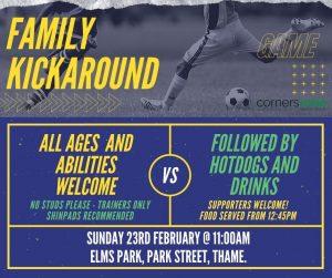 Family Kickaround @ Elms Park