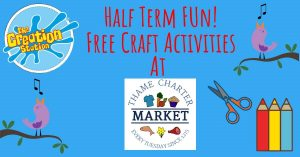 Free half-term craft activities at Thame's Tuesday market! @ Thame Market